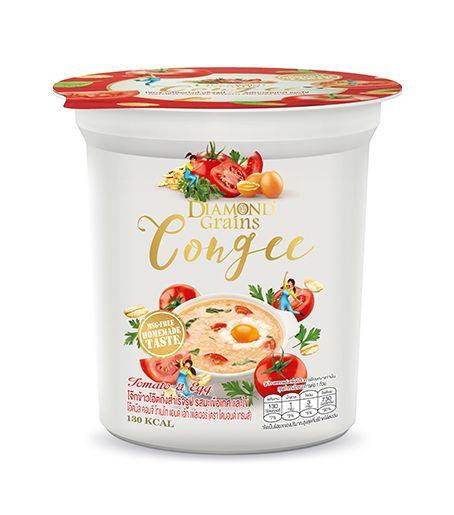 Congee Tomato And Egg Cup (35g.)