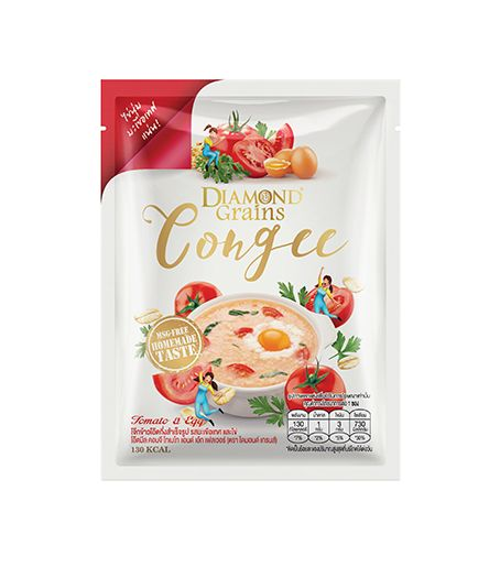 Congee Tomato And Egg Pouches (35g.)