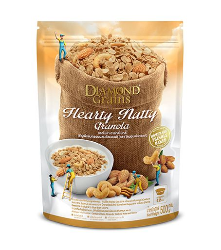 Hearty Nutty Bag (500 g.)