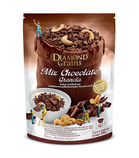 มิกซ์ ช็อกโกแลต ถุง (500 กรัม)